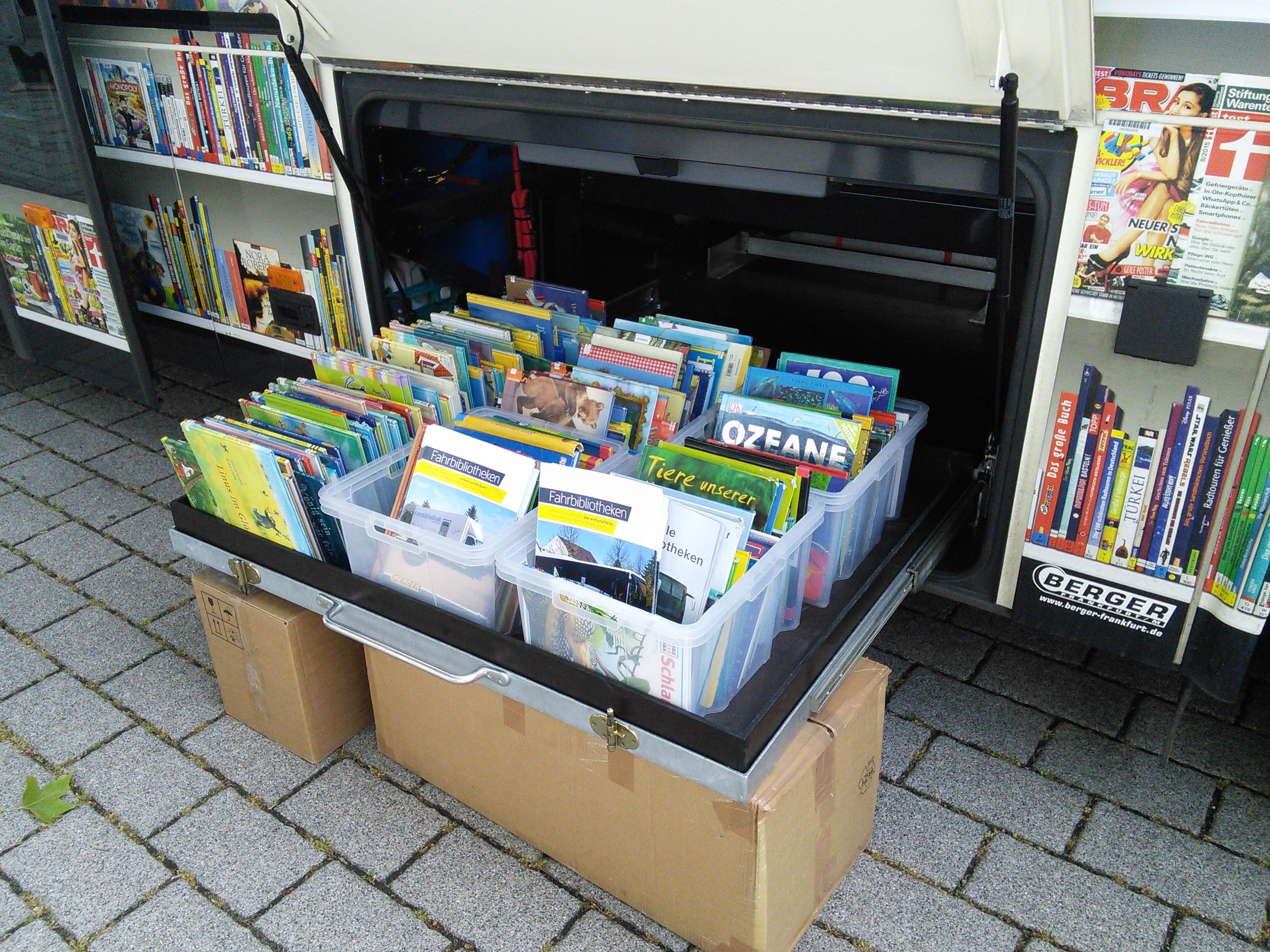 Fahrbibliothek der Stadt- und Regionalbibliothek Erfurt