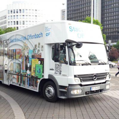 Bücherbus der Stadtbibliothek Offenbach
