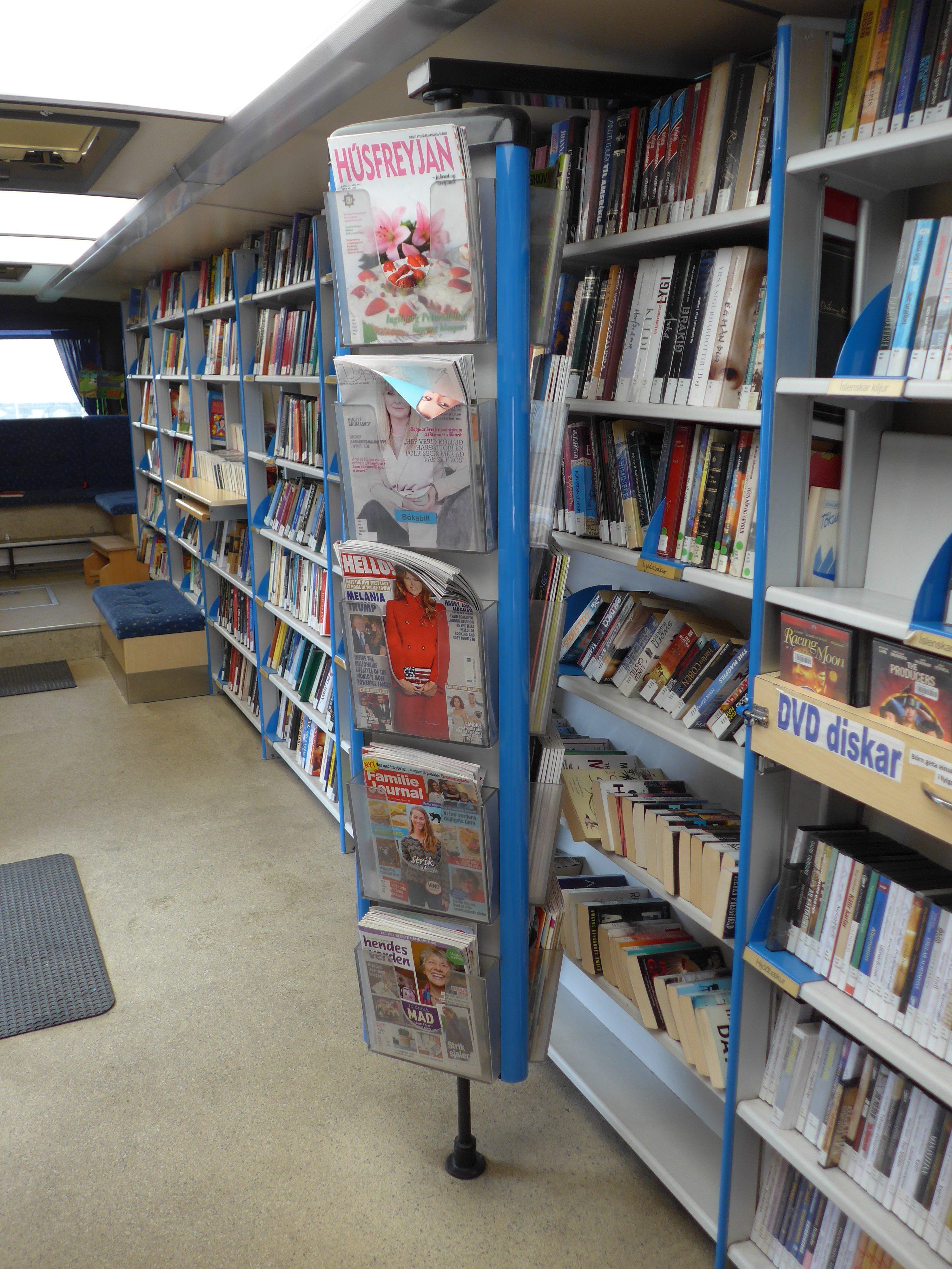 Bücherbus Reykjavik