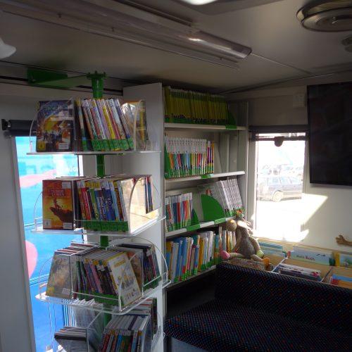 Bücherbus der Stadtbibliothek Duisburg