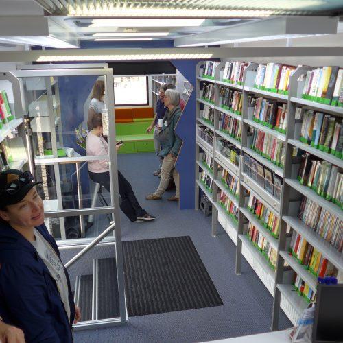 Fahrbücherei 3 im Kreis Steinburg
