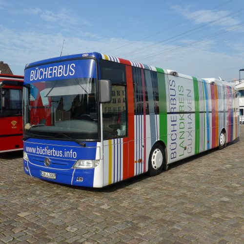 Bücherbus des Landkreises Cuxhaven