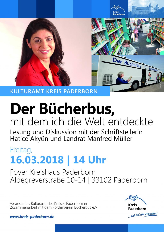"""Veranstaltungshinweis: """"Der Bücherbus, mit dem ich die Welt entdeckte"""""""
