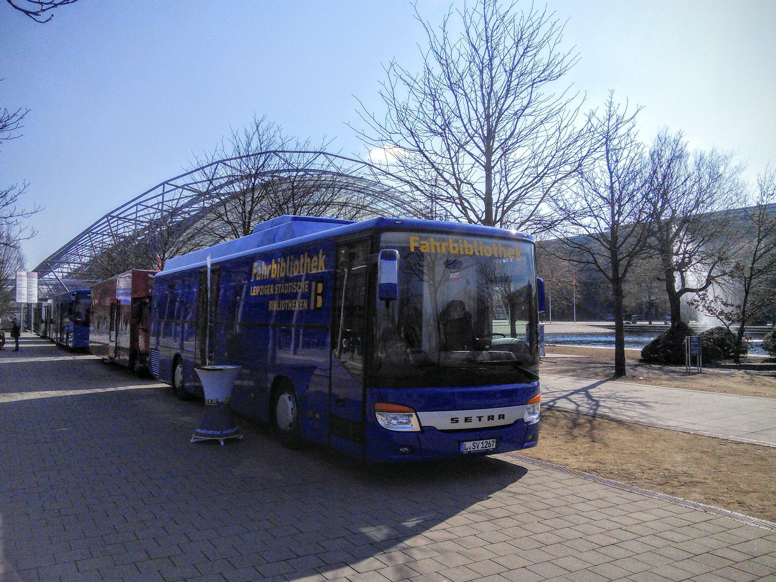 Leipzig: Zweiter Bücherbus