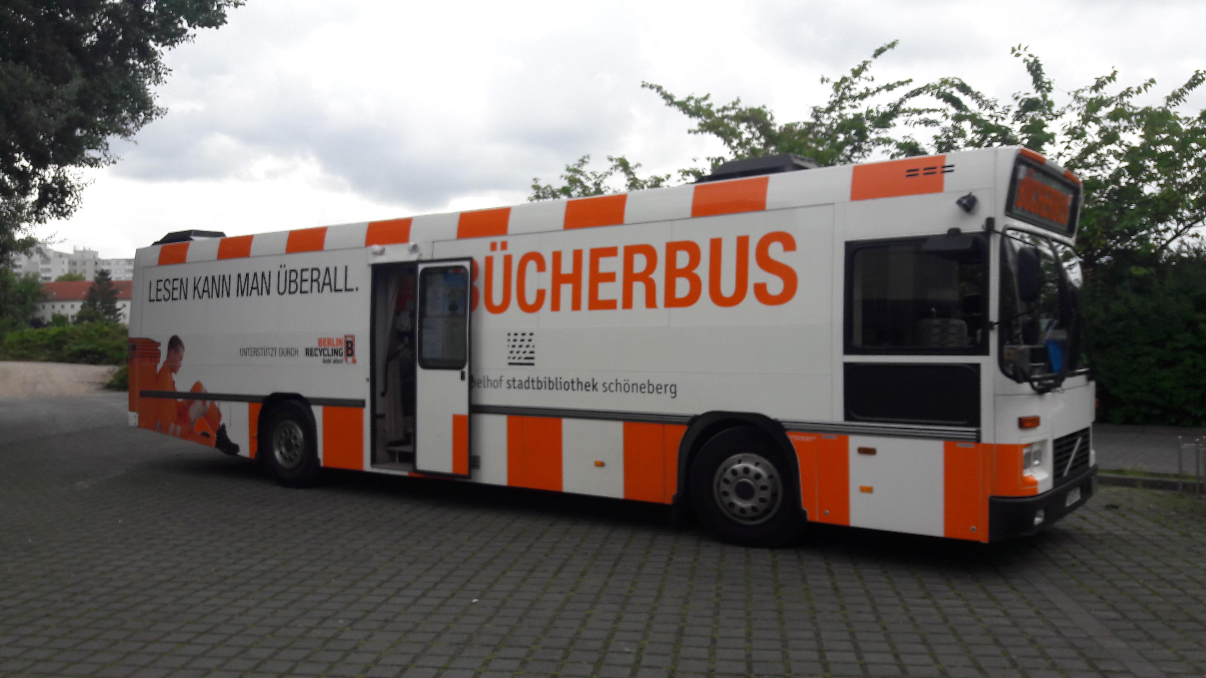 Fahrbibliothek Tempelhof-Schöneberg - seit 26 Jahren im Einsatz!