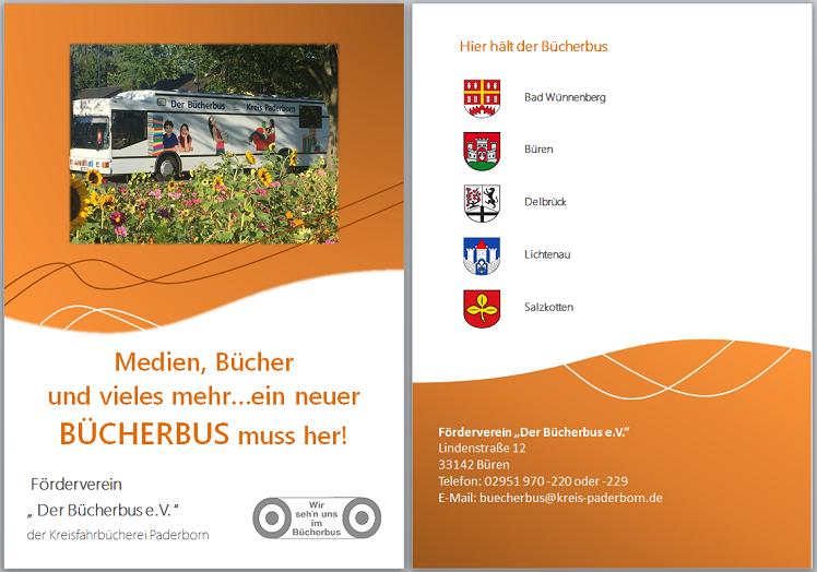 Paderborn: Ein neuer Bücherbus muss her!