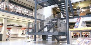 Zentralbibliothek (Foto: Homepage Stadtbibliothek Hannover)