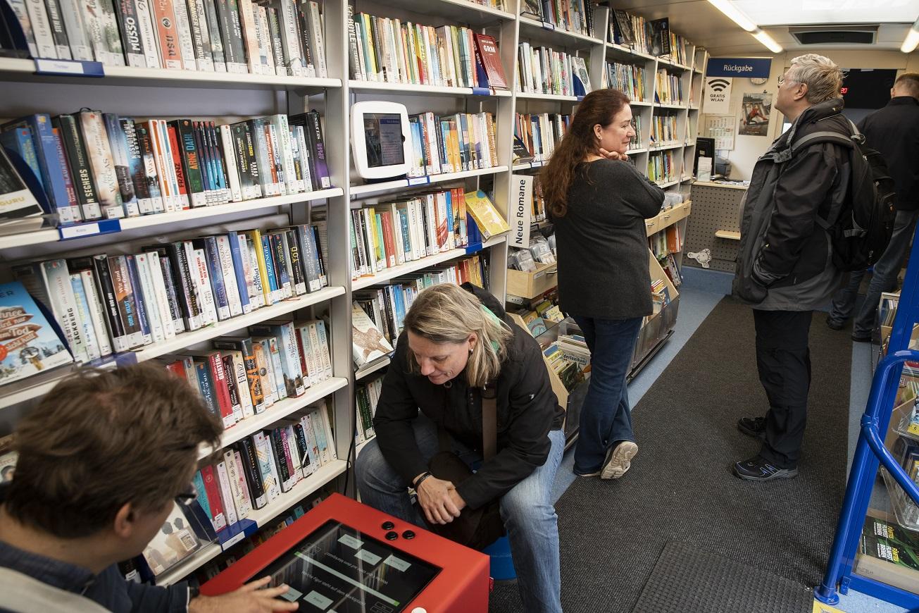 Ein Kuti für Fahrbibliotheken?