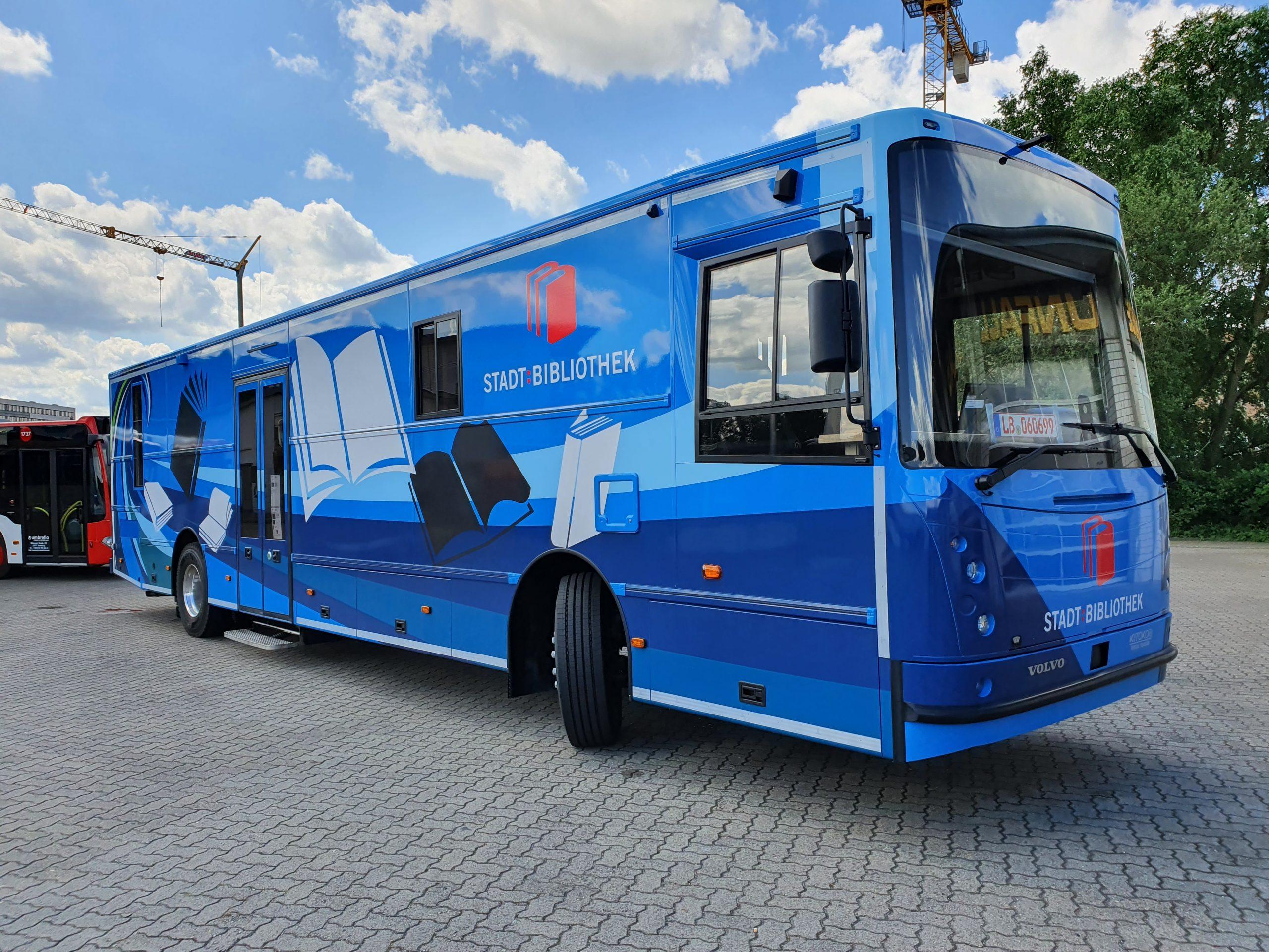 Bücherbus Salzburg