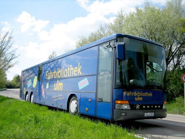 Stadtbibliothek Ulm sucht eine/-n Fahrer/-in (m/w/d) für den Bücherbus zum 1.Mai 2021